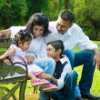 Happy Indian family candid — Stock Photo #38848045