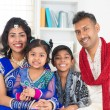 Stock Photo: Happy Indian family