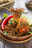 Spicy fried noodle — Stock Photo