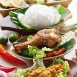 Malay fried chicken rice — Stock Photo #42443161
