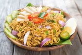 Malaysian cuisine maggi goreng mamak  — Stock Photo