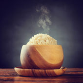 Basmati brown rice — Stock Photo