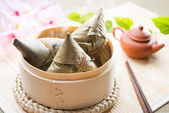 Asian Chinese Rice Dumplings — Stock Photo