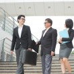 Asian business team meeting — Stock Photo
