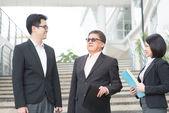 亚洲业务团队 — 图库照片