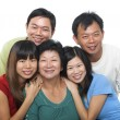 Asian family portrait.  — Stock Photo #46315109