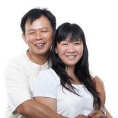 Asian mature couple — Stock Photo