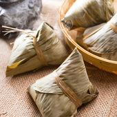 Chinese rice dumpling — Stock Photo