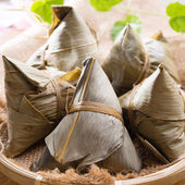 Rice dumpling or zongzi.  — Stock Photo