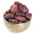 Dates fruit isolated. — Stock Photo #46893735