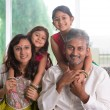 Happy Indian parents and children — Stock Photo #47663331
