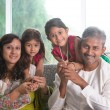 Indian parents and children — Stock Photo #47663367