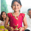 Diwali or deepawali — Stock Photo