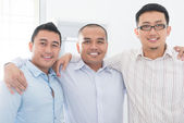 Southeast Asian business team — Stok fotoğraf