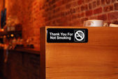 "The ""No Smoking"" sign — Stock Photo"