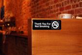 "The ""No Smoking"" sign — Stock Photo"
