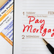 Stock Photo: Be sure to pay home mortgage on time