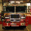 Fire Engine concepts of safety and rescue — Foto Stock