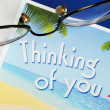 Stock Photo: Thinking of You concepts of caring and thoughtfulness