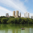 View from Central Park in New York City — Stock Photo