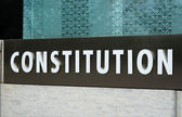Constitution concepts of rights, law, and freedom — Stock Photo