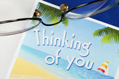 Thinking of You concepts of caring and thoughtfulness — Stock Photo