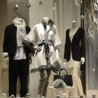 Foto Stock: Display window from clothing store concept of luxury clothing
