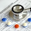 Rising medical cost in the United States — Foto Stock