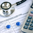 Rising medical cost in the United States - Foto Stock