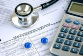 Rising medical cost in the United States — Stockfoto