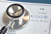 Rising medical cost in the United States — Stock Photo