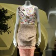 A fashion dummy dressed in trendy luxury clothing — 图库照片