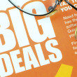 Big deals sign concept of shopping and discounts — Stock Photo