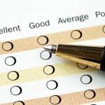 Fill in the customer satisfaction survey — Stock Photo #2805228
