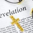 Study the Bible concept of religion and faith — Foto Stock