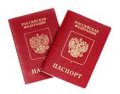 Two Russian international passport — Stock Photo