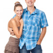 Loving couple embracing — Stock Photo #12918090