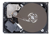 Hard disk drive HDD isolated on white background — Stockfoto