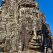 Angkor Face, Angkor Thom, Cambodia — Stock Photo