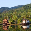Tropical hotel in the jungle. Island Koh Chang — Stock Photo #21025269