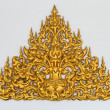 Gold stucco Thai style — Stockfoto #21253799