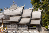 Silver temple in Chiang Mai — Stock Photo