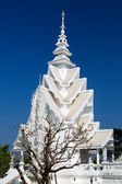 Spire of the White Temple in Chiang Mai, Thailand — Stock Photo