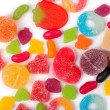 Fruit candy multi-colored — Stock Photo