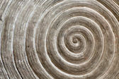 Relief pattern on a stone in the form of a spiral — Stock Photo