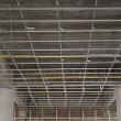 Suspended ceiling system under reconstruction building — Stock Photo #22205211
