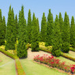 Landscaped garden Royal FlorRatchaphruek — Stock Photo #22205403