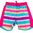 Children's beach shorts — Stock Photo