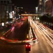 Night traffic — Stock Photo
