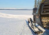 Снегоход — Стоковое фото
